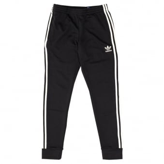 Adidas Originals Superstar Cuffed Black Track Pants AJ6960