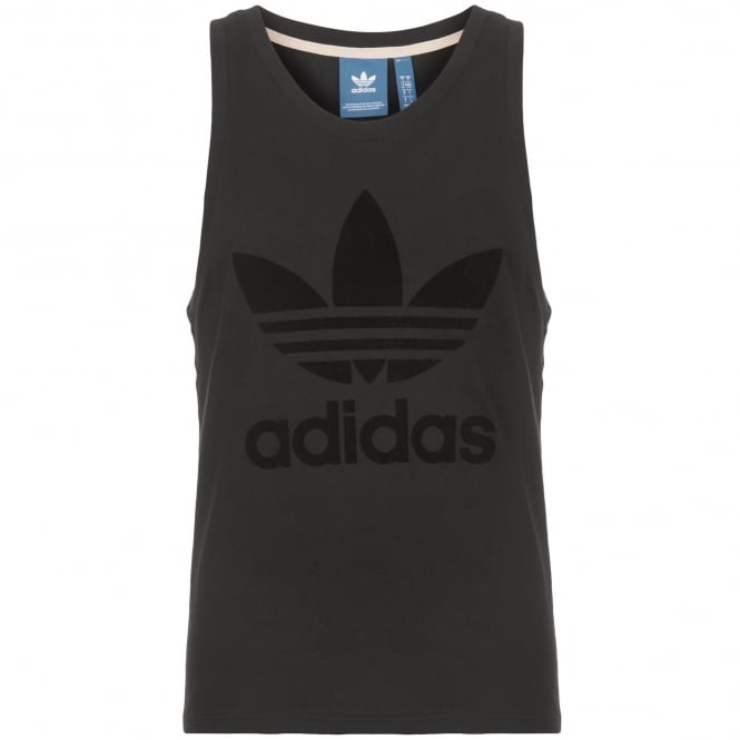 Adidas Originals Tonal Black Tank Top CF5322
