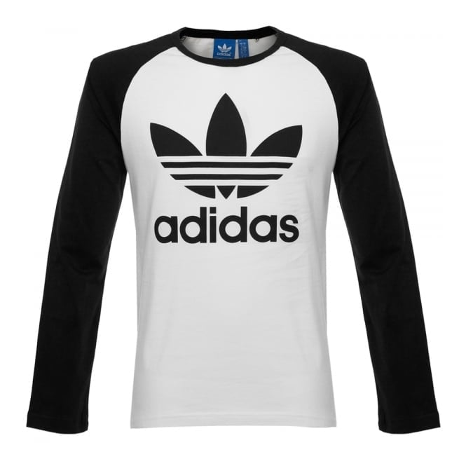 Adidas Originals Adidas Originals Trefoil LS White T-Shirt AY7804
