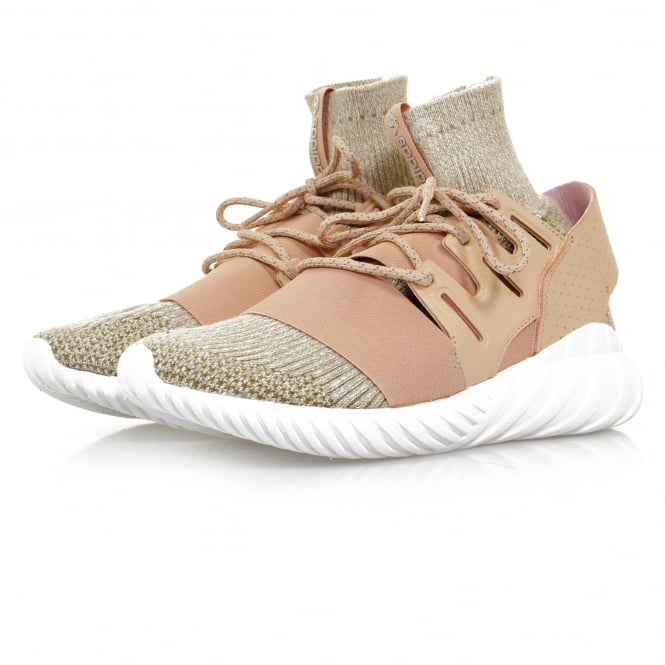 Adidas Originals Adidas Originals Tubular Doom PK Pale Nude Brown Shoe BB2390
