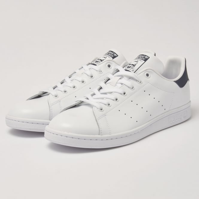 Adidas Originals Adidas Stan Smiths White Navy Sneakers M20325
