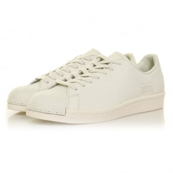 Adidas Originals  Adidas Superstar 80s Clean Crystal White Shoe BB0169