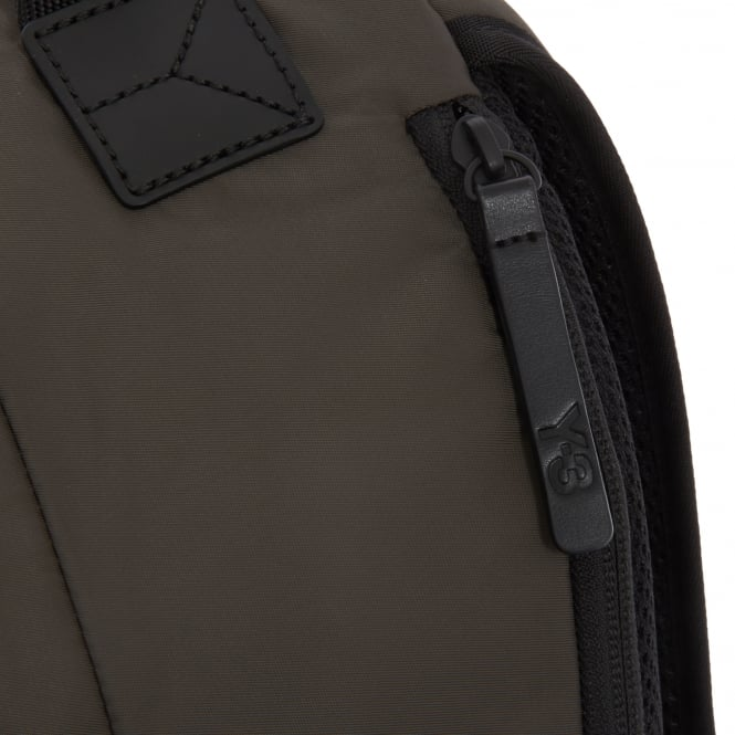 d63dab81bc90 Y-3 Techlite Black Olive Backpack