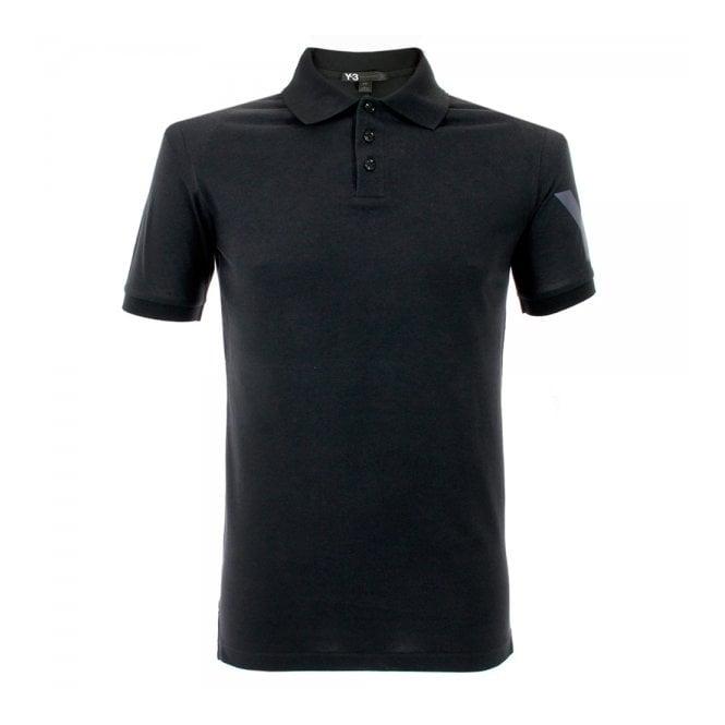 Adidas Y-3 Adidas Y-3 Black Polo Shirt M38479