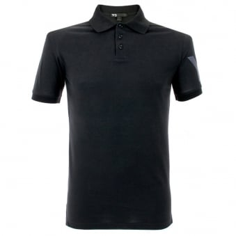 Adidas Y-3 Black Polo Shirt M38479