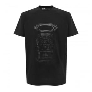 Adidas Y-3 Graphic Shirt 6 Black T-Shirt B47543