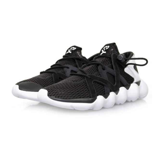 Adidas Y-3 Kyujo Low Black Shoes AQ5547