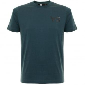Adidas Y-3 M CL Short Sleeve Midnight T-Shirt B28224