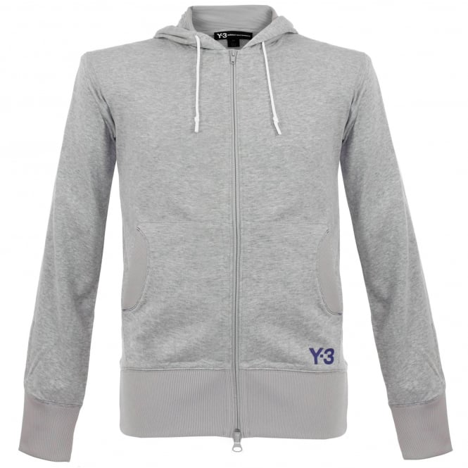 Adidas Y-3 M F Crafted Grey Hoody BR1723