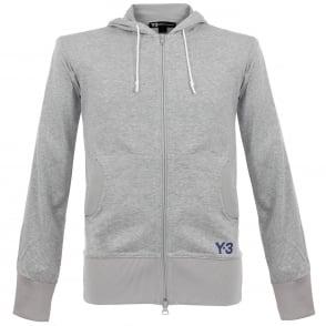 Adidas Y-3 M F Crafted Grey Hoody BR1723