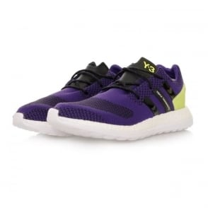 Adidas Y-3 Pure Boost ZG Knit Purple Shoes AQ5730