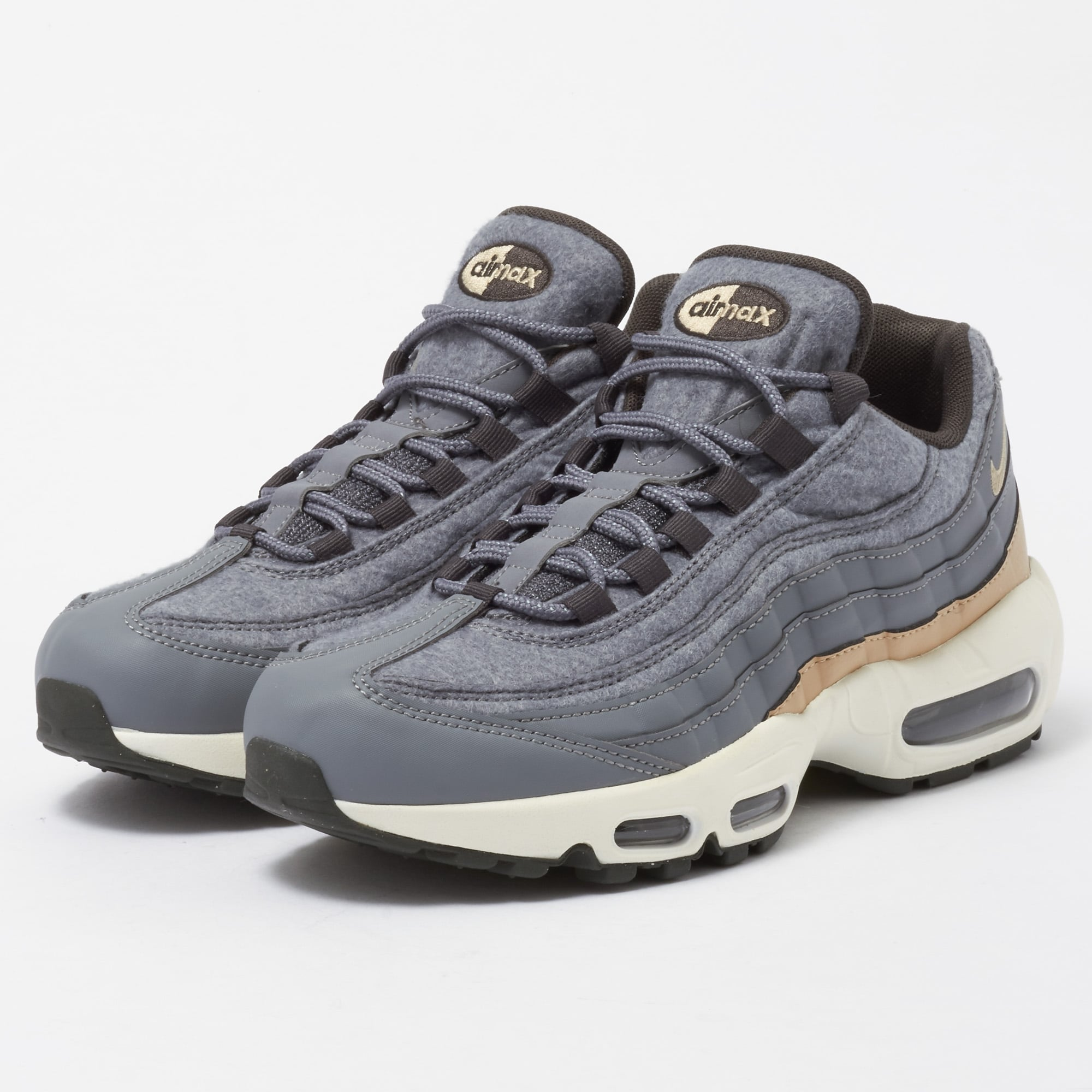 Air Max 95 PRM - Cool Grey & Mushroom