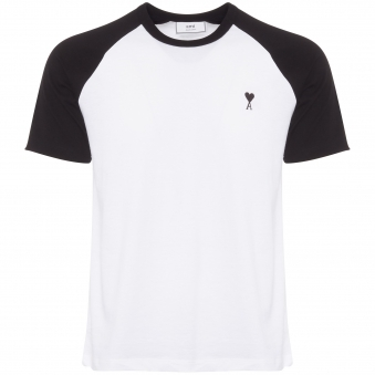 AMI de Couer T-Shirt - White & Black