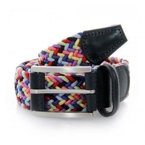 Anderson Belts Woven Rainbow Belt AF2949048