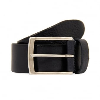 Anderson Navy Blue leather belt A2683