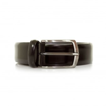 Anderson Shine Burgundy Leather Belt A1981 AF3237 PL262 D1