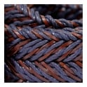Anderson's Belts Anderson's Braided Twine Deep Navy Brown Belt AF2949002
