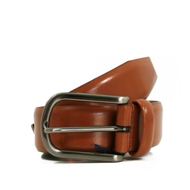 Anderson's Belts Andersons Plain Honey High Shine Leather Belt  A1981