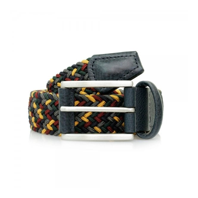 Anderson's Belts Anderson's Woven Multi Braided Belt B0667 NE41 076