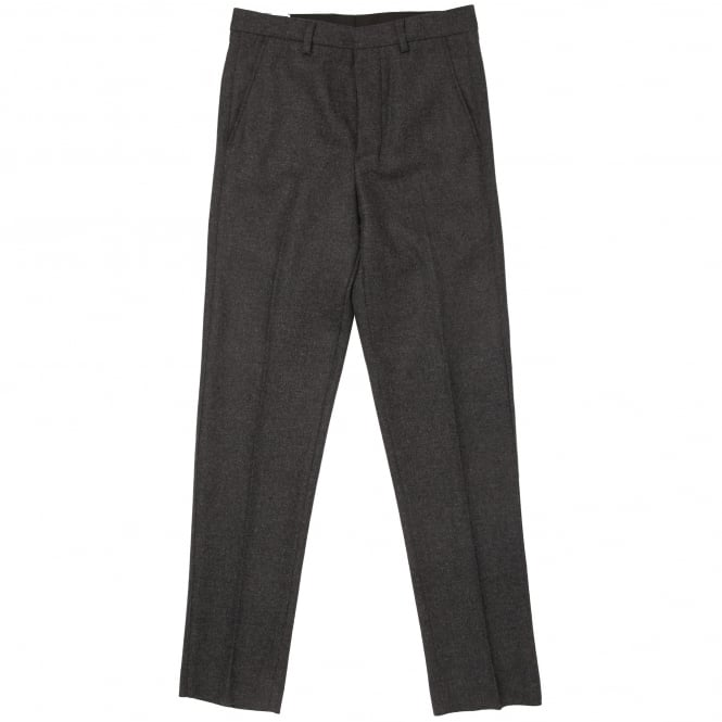 AMI Anthracite Carrot Fit Tailored Trousers