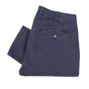 Aquascutum Parret Stretch Navy Chino Trousers 021556001