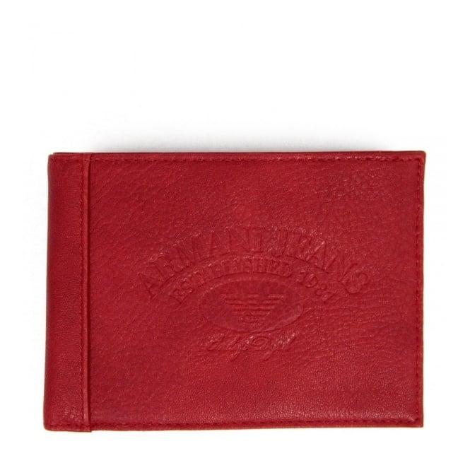 Armani Accessories Armani Jeans Accessories Red Wallet V6V17