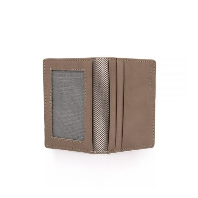 Armani Accessories Armani Jeans Bifold Brown Wallet V6V82
