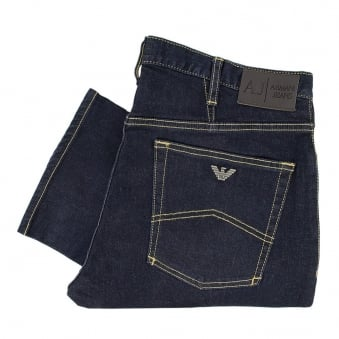 Armani Jeans J06 Fitted Denim Jeans 06J73