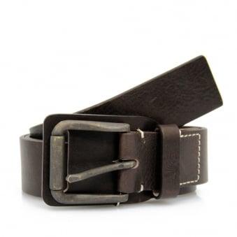 Armani Jeans Maroon Brown Belt V6162