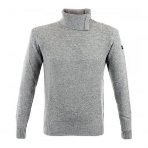 Armani Jeans Wool Blend Grey Jumper Z6W13