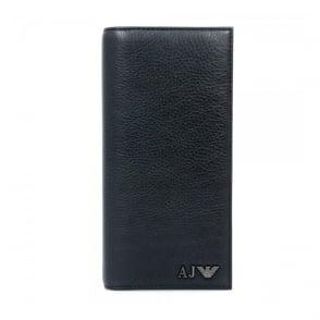 Armani Jeans Yen Black Leather Wallet 06V75