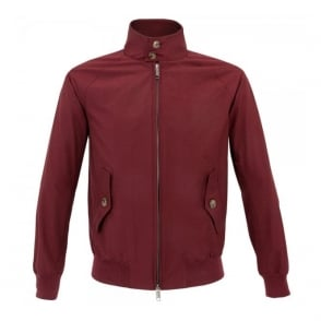 Baracuta G9 Original Harrington Wine Jacket BRCPS0001