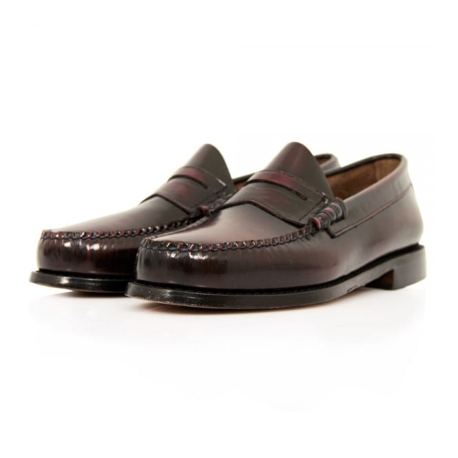 Bass Weejuns Bass X William Fox & Sons Larson 2 Burgundy Shoes 66847