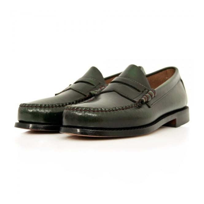 Bass Weejuns Bass x William Fox & Sons Larson 2 Green Shoes 66847