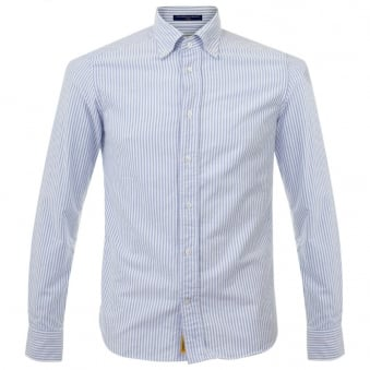 BD Baggies Dexter Oxford Cotton Striped Shirt B25003