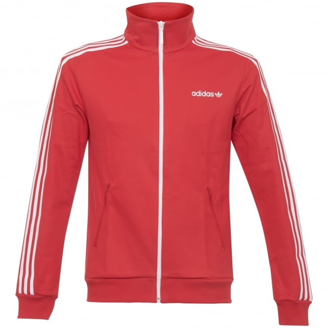 Adidas Originals Beckenbauer Track Top - Vivid Red