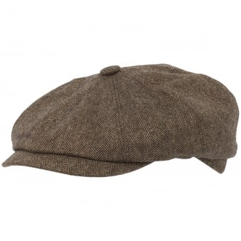 Beige Wool and Silk Hattera