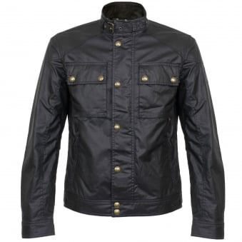 Belstaff Racemaster Dark Navy Waxed Jacket 71020198