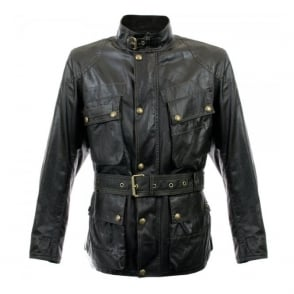 Belstaff Sammy Miller Black Waxed Jacket 71050050