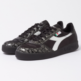 Black Borg Elite Satin Trainers