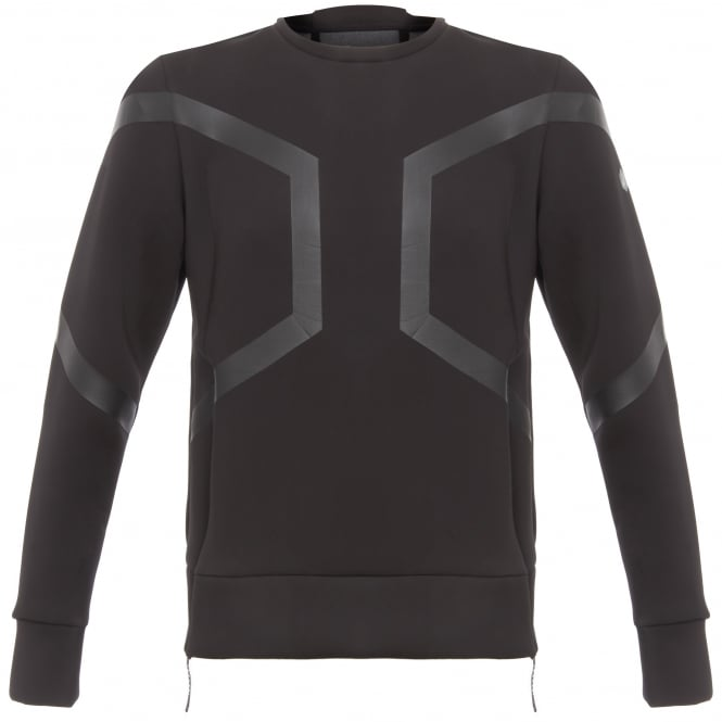 Asics Black Hexagon Crew Top 146392