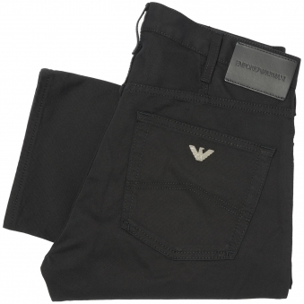 Black J21 Jeans Style Chinos