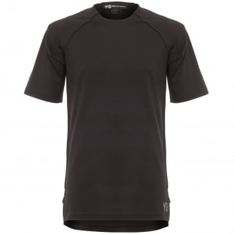 Black Jersey Short Sleeve T-Shirt