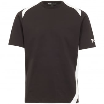 Black Panel Insert T-Shirt