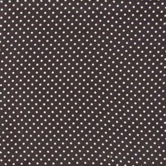 Black Pin Dot Silk Pocket Square