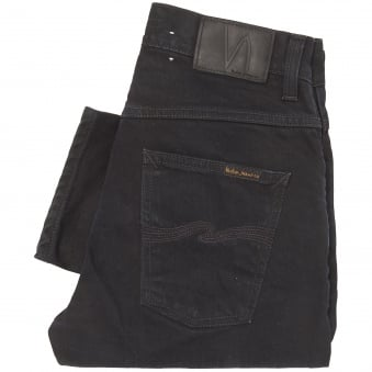 Black Sparkles Grim Tim Jeans - Slim Fit