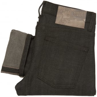 Black x Grey Super Skinny Guy Stretch Selvedge