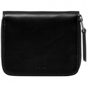 Black Zipped Wallet