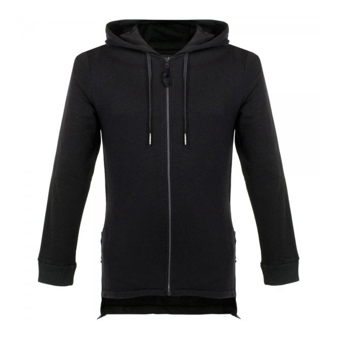 Blood Brother Snag Black Zip Hoodie Ba15S