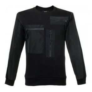 Blood Brother Stem Black Sweatshirt BA15ST